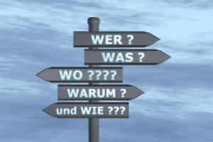 Verkehrsschild: Wer, was, wo, warum und wie?