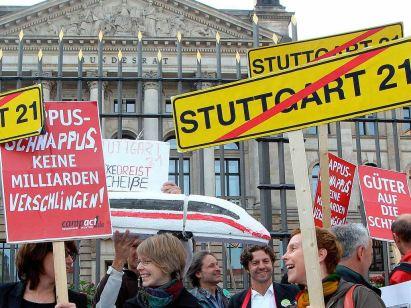 Proteste der Bürger