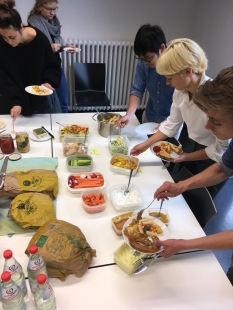 Die gemeinsame Mittagspause